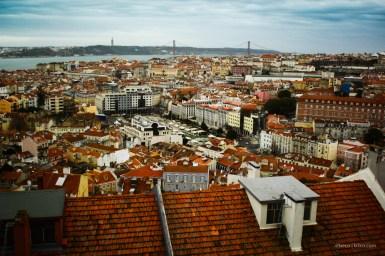 Lisboa desde mirador