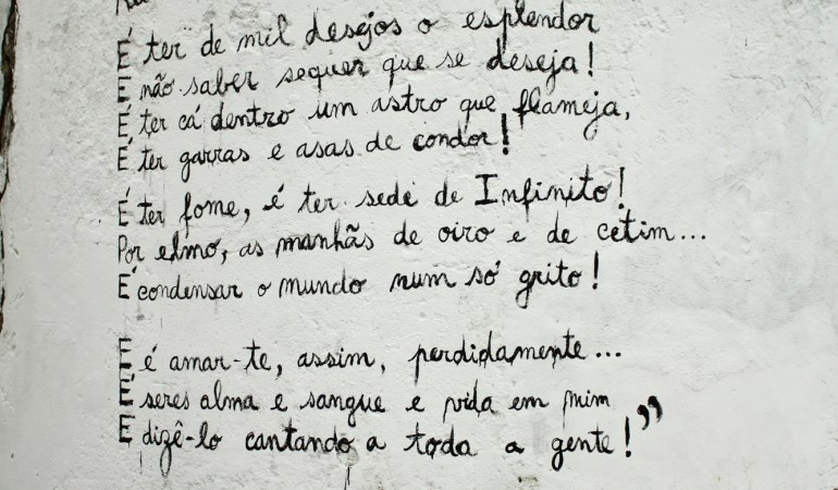 Ser poeta – Florbela Espanca (traducción)