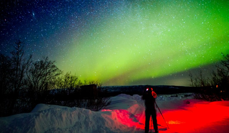 Con Canon en Alaska