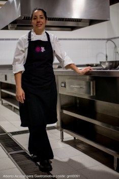 Mayte Rueda, la chef instructora.