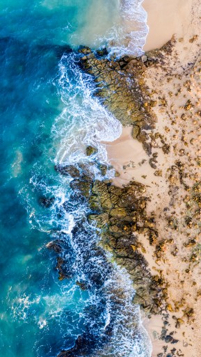 Punta Gallinas; el punto más al norte de América del Sur, Guajira, Colombia
