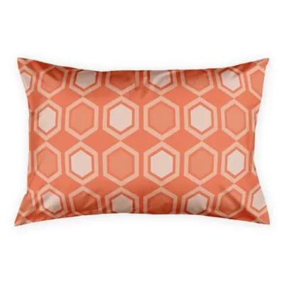 orange pillow shams bed bath beyond