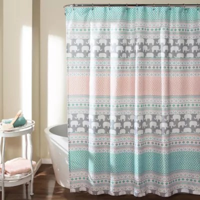 dark gray shower curtain bed bath