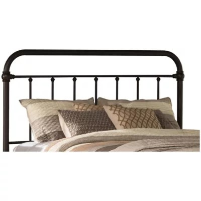 bronze full queen headboard bed bath