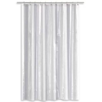 salt heavy gauge peva shower curtain liner bed bath beyond