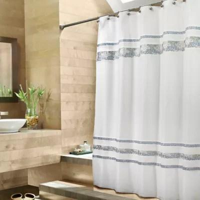 croscill spa tile 70 inch w x 75 inch l fabric shower curtain