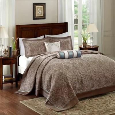 madison park aubrey bedspread set