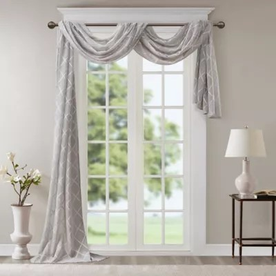 no 918 emily sheer voile rod pocket window curtain panel