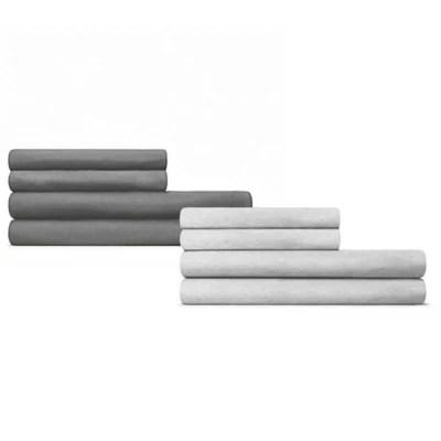 calvin klein modern cotton body solid pillowcases set of 2 bed bath beyond