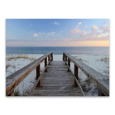 Buy Artissimo Designs Pensacola Sunset 40 Inch X 30 Inch