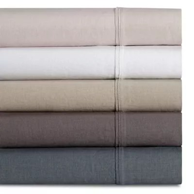 Wamsutta Vintage Washed Linen Percale Sheet Set Bed Bath Beyond