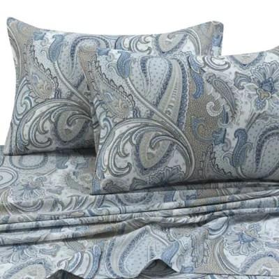 tribeca living paisley park 300 thread count pillowcases set of 2