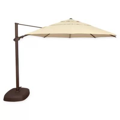 simplyshade fiji 11 5 foot octagon cantilever umbrella bed bath beyond