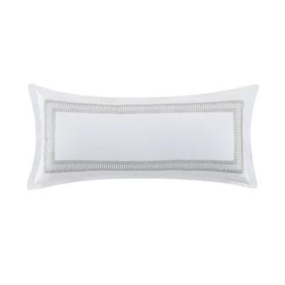 wamsutta chelmsford oblong bolster throw pillow