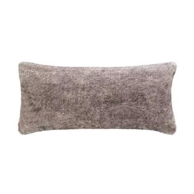 ugg mammoth bolster pillow in dark gray