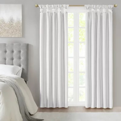 off white curtain panel bed bath beyond