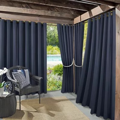 outdoor curtain panels