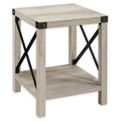 metal wood end tables bed bath