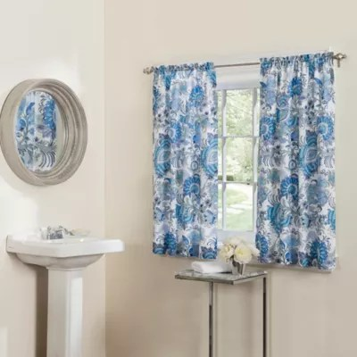 matching shower and window curtain sets