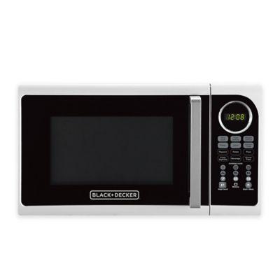 black decker 0 9 cu ft microwave oven bed bath beyond