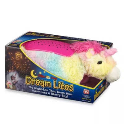 pillow pets dream lites unicorn