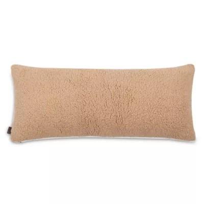 ugg classic sherpa bolster throw pillow