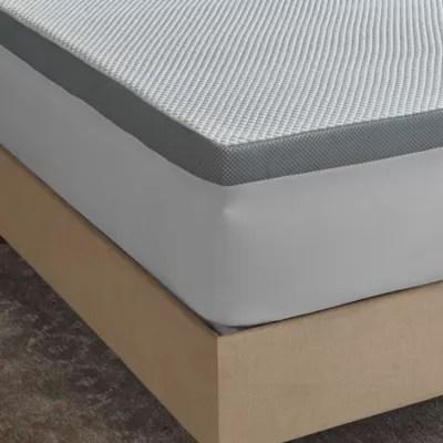 cooling gel memory foam bed pillow