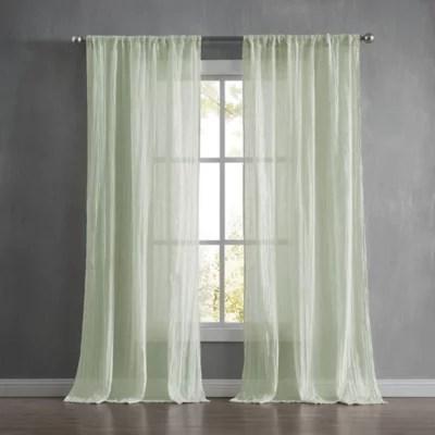 seafoam green curtains bed bath beyond