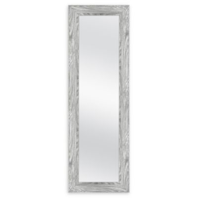 Over The Door Hanging Mirror In Grey Bed Bath Beyond