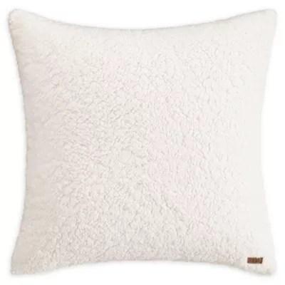 ugg sherpa european pillow sham in snow