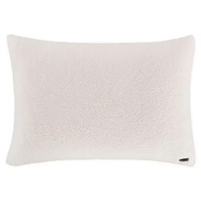 ugg faux sherpa bed pillow