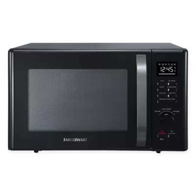 farberware 1 0 cu ft 1000 watt microwave oven with air fry grill convection function