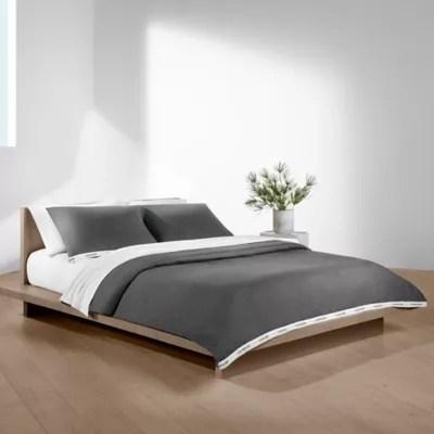 Calvin Klein Classic Logo Duvet Cover Bed Bath Beyond