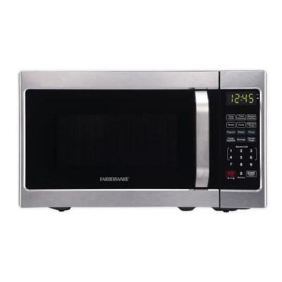 farberware classic 0 7 cu ft microwave oven in silver