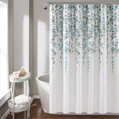 lush decor 72 inch x 72 inch weeping flower shower curtain bed bath beyond