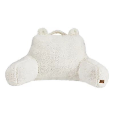 ugg casey sherpa backrest pillow in snow