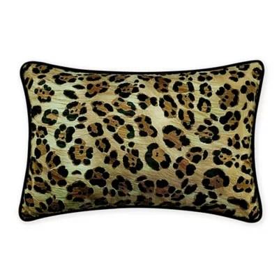 leopard throw pillow bed bath beyond