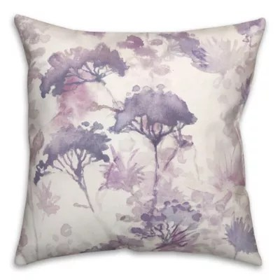 purple pillow bed bath beyond
