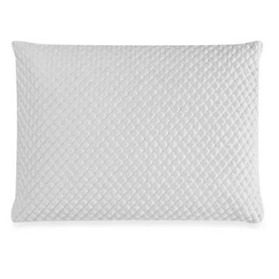 therapedic trucool memory foam back stomach sleeper bed pillow