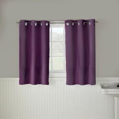 https www bedbathandbeyond com store s purple bathroom window curtains