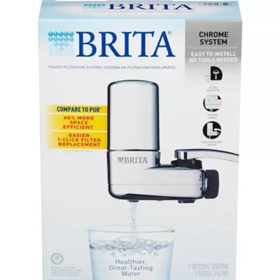 brita faucet filtration system bed