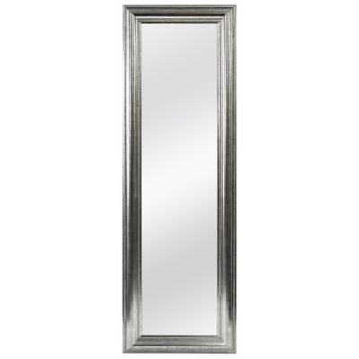 Better 53 5 Inch X 17 5 Inch Over The Door Mirror In Silver Double