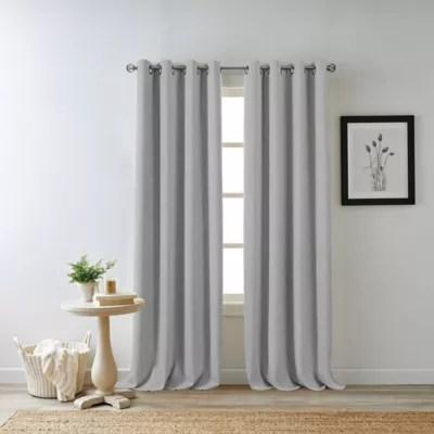 quinn grommet top 100 blackout window curtain panel