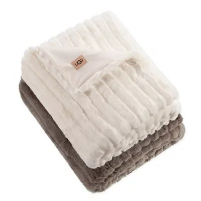 ugg polar throw pillow and blanket gift set