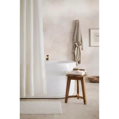 double gauze organic cotton shower