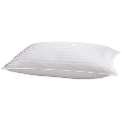 palais royale seasons collection pinnacle goose down back sleeper pillow in white
