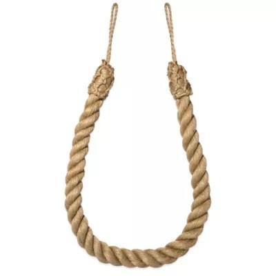 jute rope tie back bed bath beyond