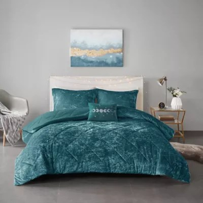 teal and grey bedding bed bath beyond