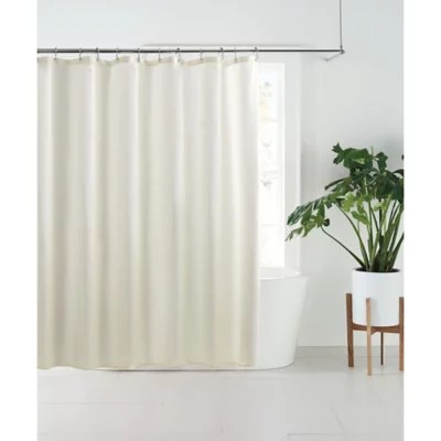 nestwell fabric shower curtain liner