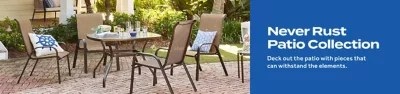 never rust patio collection bed bath